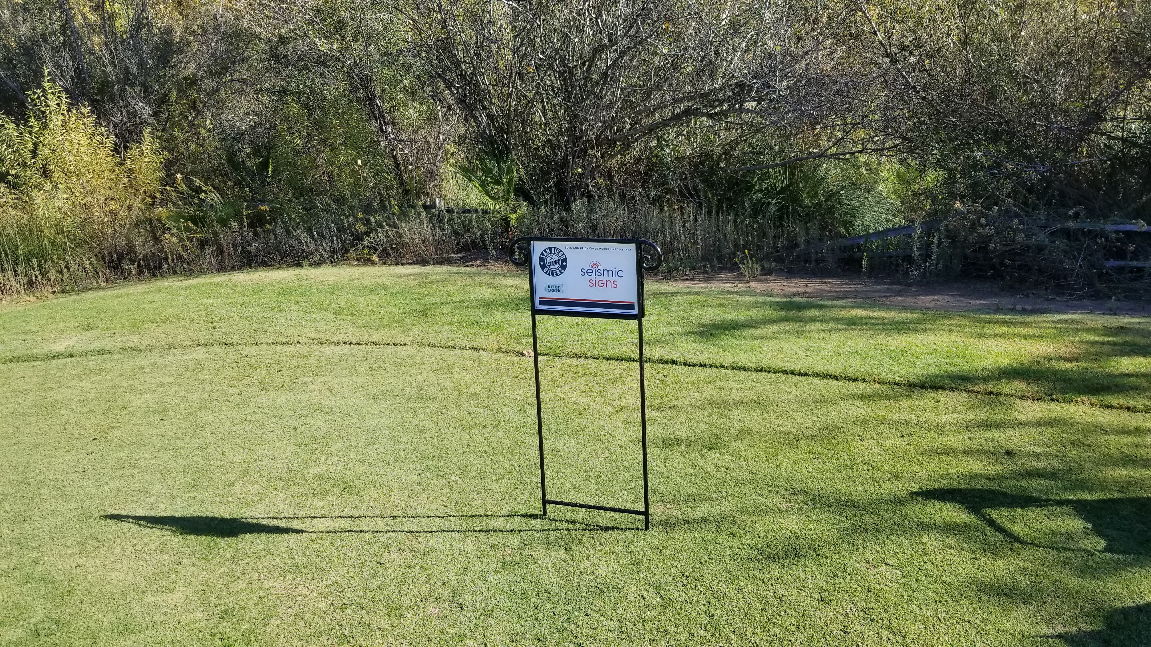 Golf Hole Sponsorship